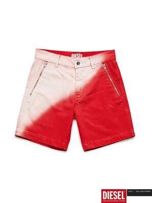 GR02-P303, Rouge/Blanc - Shorts