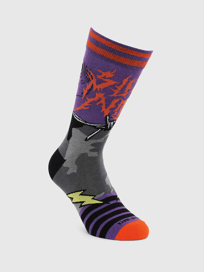 Diesel - SKM-RAY, Violet - Chaussettes - Image 1