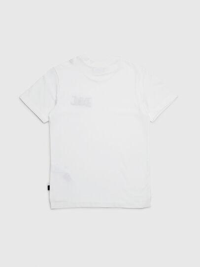 Diesel - TJUSTXMAS, Blanc - T-shirts et Hauts - Image 2