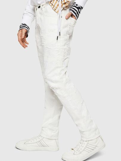 Diesel - Mharky 069IJ, Blanc - Jeans - Image 5