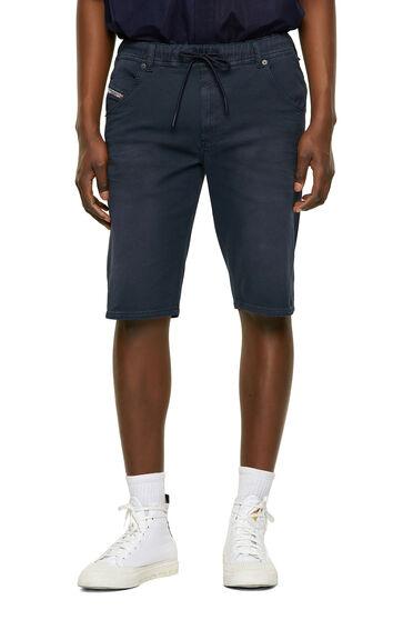 Short slim en JoggJeans® teint