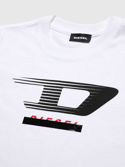 Diesel - TJUSTY4, Blanc - T-shirts et Hauts - Image 3