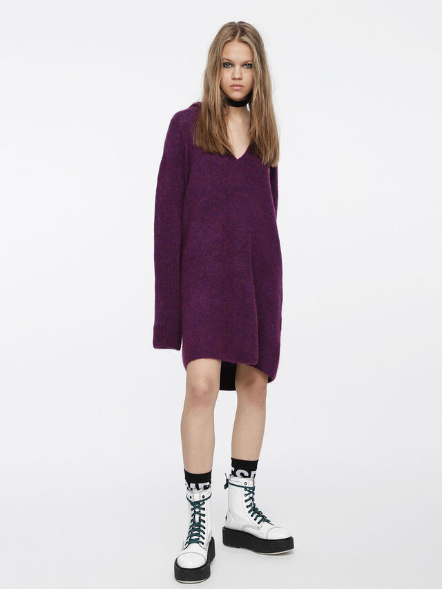 Diesel - M-SOFTY, Violet - Robes - Image 1