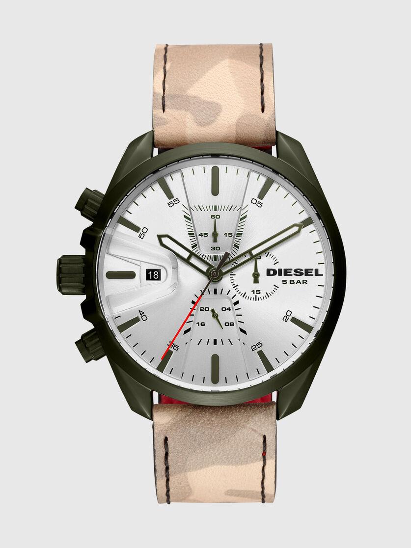 lowest price large discount the cheapest DZ4472: Montre camouflage avec bracelet à envers rouge Homme ...