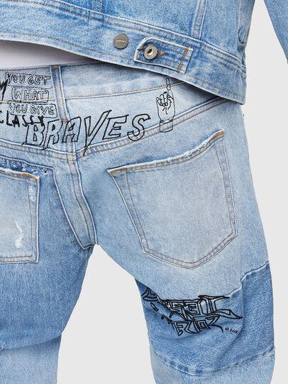 Diesel - D-Kodeck 0078F, Bleu Clair - Jeans - Image 5