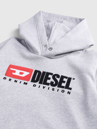 Diesel - SDIVISION OVER, Gris - Pull Cotton - Image 3