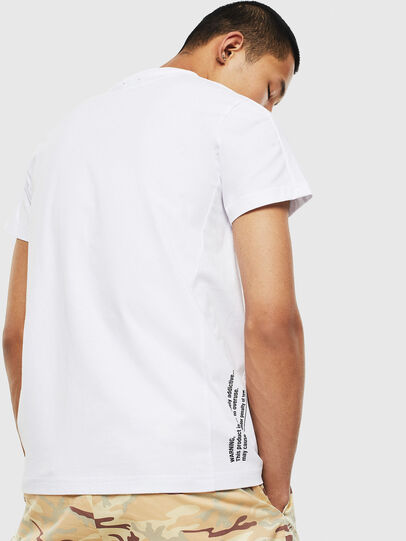 Diesel - T-HOVER, Blanc - T-Shirts - Image 2