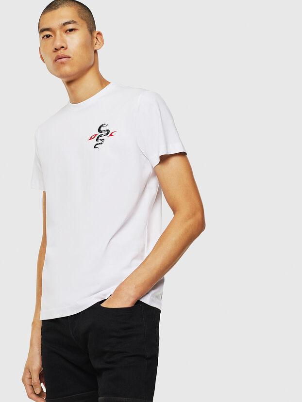T-DIEGO-J16, Blanc - T-Shirts
