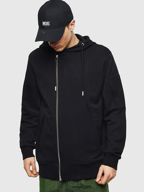 S-GIANT, Noir - Pull Cotton