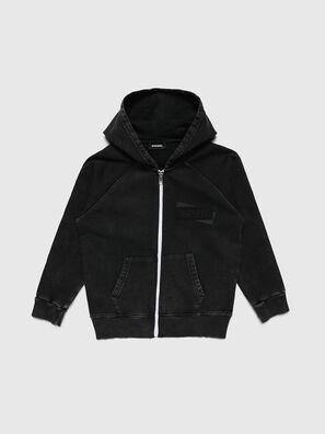 SGIMHOODZIP, Noir - Pull Cotton