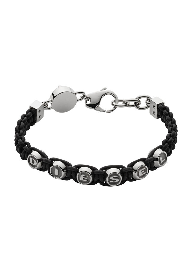 Diesel - BRACELET DX0947, Noir - Bracelets - Image 1