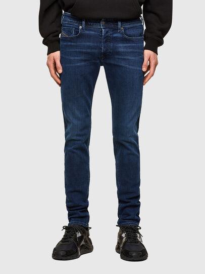 Diesel - Sleenker 009QI, Bleu Foncé - Jeans - Image 1