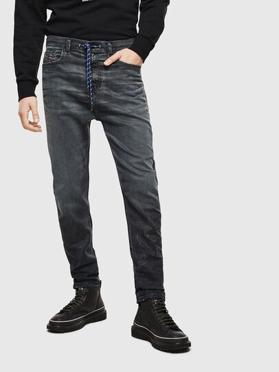 Diesel - D-Vider JoggJeans 069MD, Bleu Foncé - Jeans - Image 1