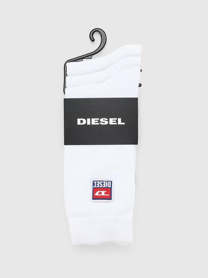 Diesel - SKM-RAY-THREEPACK, Blanc - Chaussettes - Image 2