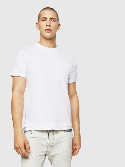 Diesel - T-DIAMANTIK-NEW, Blanc - T-Shirts - Image 1