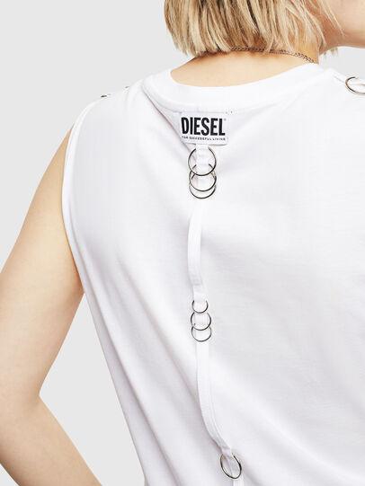 Diesel - T-LESLEE-A, Blanc - Haut - Image 3