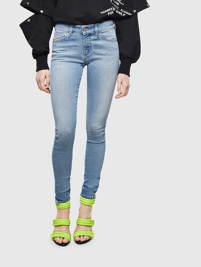 Diesel - Slandy 0096L, Bleu Clair - Jeans - Image 1