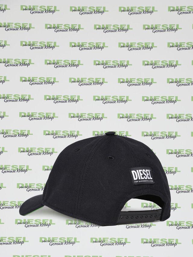 Diesel - MU-CELEB, Noir - Bérets, chapeaux et gants - Image 2
