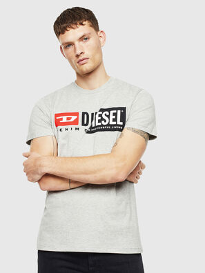 T-DIEGO-CUTY, Gris - T-Shirts