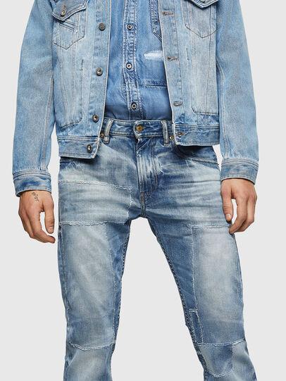 Diesel - Thommer 0092F, Bleu Clair - Jeans - Image 3