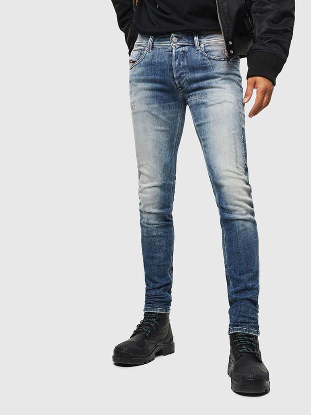Sleenker 0098D, Bleu Clair - Jeans