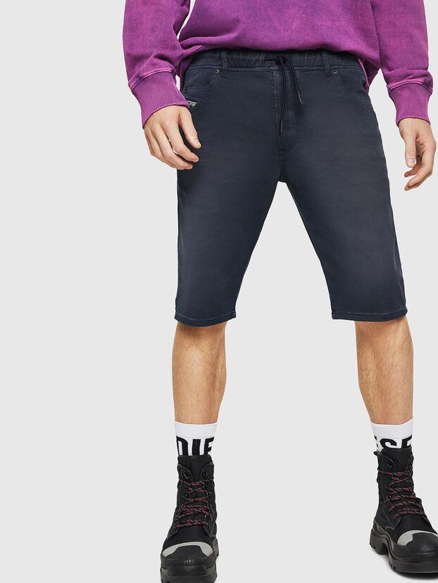 D-KROOSHORT JOGGJEANS, Bleu Foncé - Shorts