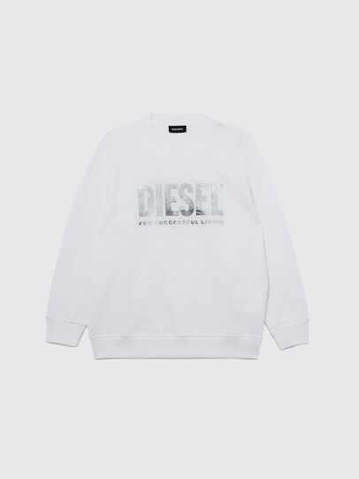 Diesel - SANGWX, Blanc - Pull Cotton - Image 1