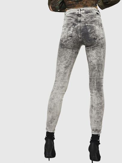 Diesel - Slandy High 069GQ, Gris Clair - Jeans - Image 2