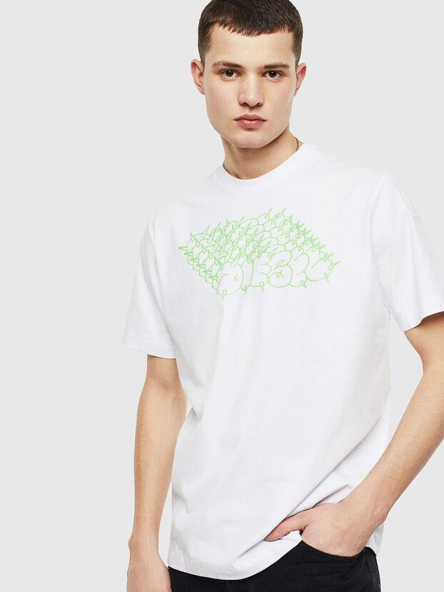 T-JUST-T20, Blanc - T-Shirts