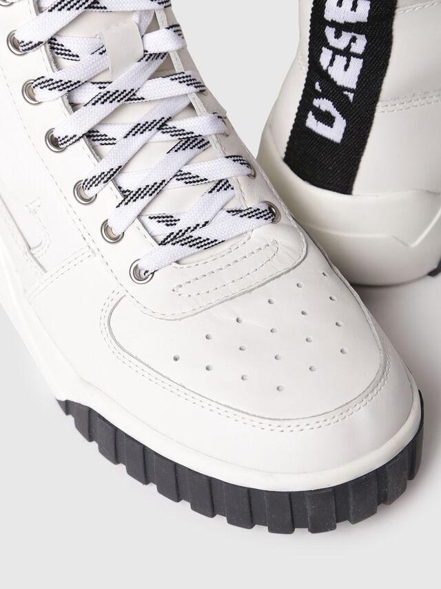Diesel - S-RUA MC W, Blanc - Baskets - Image 4
