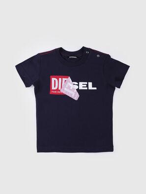 TOQUEB MC, Bleu Marine - T-shirts et Hauts