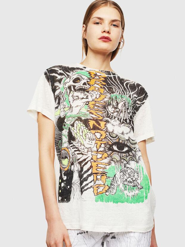 T-DARIA-YB, Blanc - T-Shirts