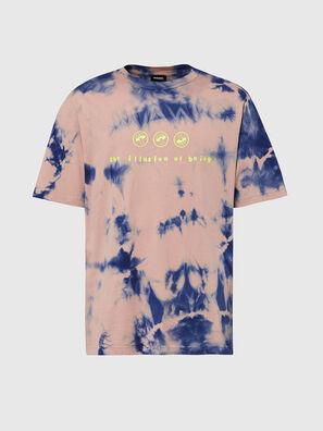 T-JUST-SLITS-X86, Rose/Bleu - T-Shirts
