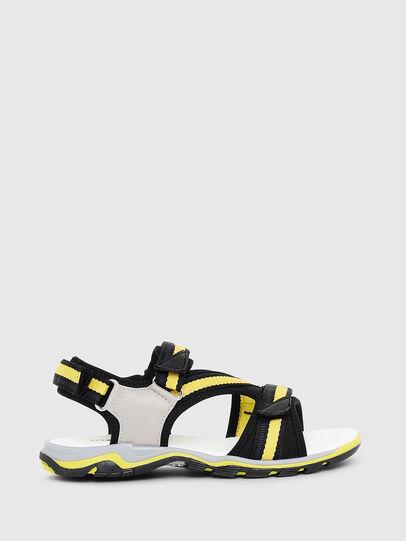Diesel - SA 07 STRIPE CH, Gris/Noir - Footwear - Image 1