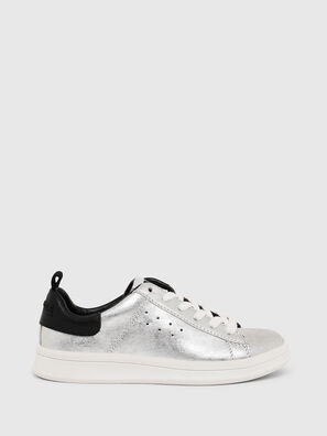 SN LOW LACE 11 FULL, Gris argenté/Noir - Footwear
