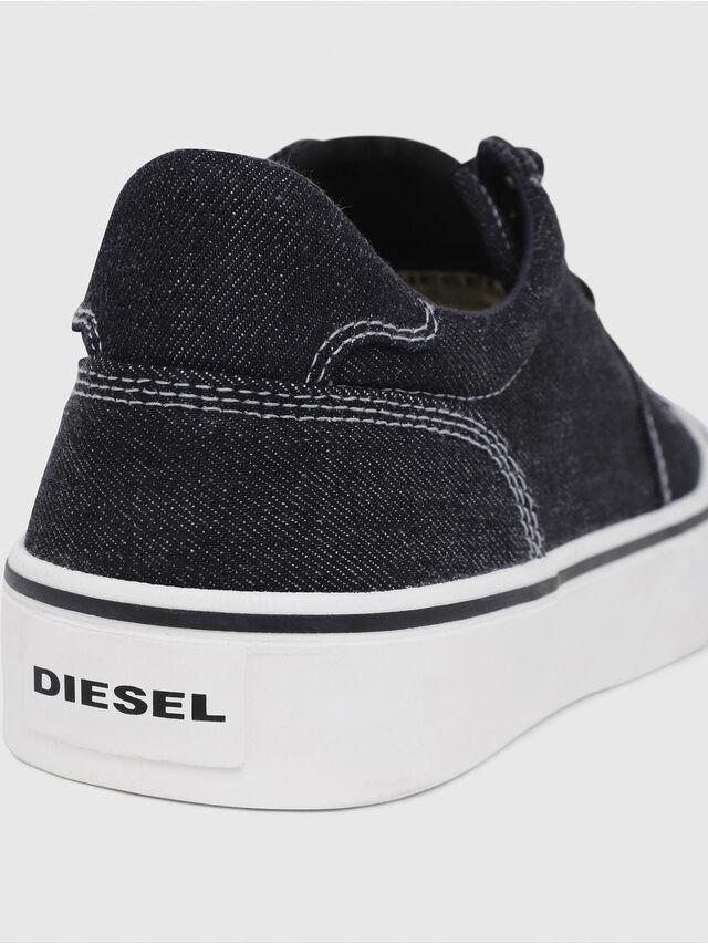 Diesel - S-FLIP LOW, Jean Bleu - Baskets - Image 4