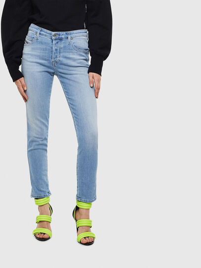 Diesel - Babhila 0095D, Bleu Clair - Jeans - Image 1