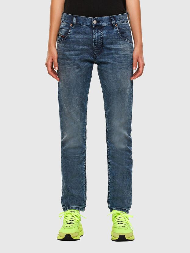 Krailey JoggJeans 069NZ, Bleu moyen - Jeans