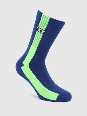 SKM-RAY, Bleu/Vert - Chaussettes