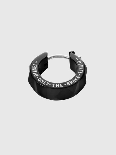 Diesel - DX1273, Noir - Boucles d'oreilles - Image 2