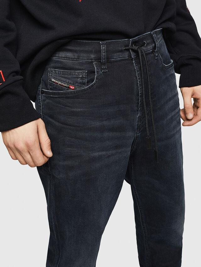 Diesel - D-Vider JoggJeans 069GE, Noir/Gris foncé - Jeans - Image 3