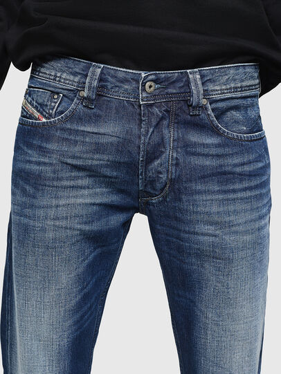 Diesel - Larkee 008XR, Bleu Foncé - Jeans - Image 3