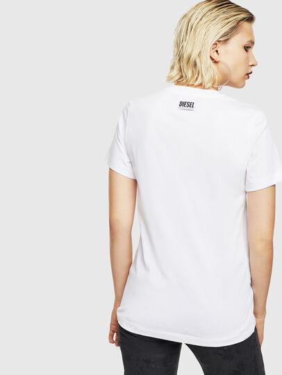 Diesel - T-SILY-YB, Blanc - T-Shirts - Image 2