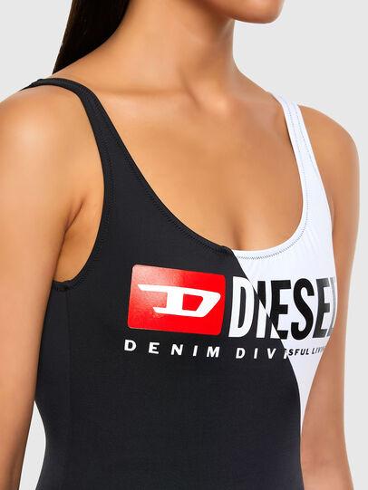 Diesel - BFSW-FLAMMYCUT, Noir/Blanc - Maillots de Bain - Image 3