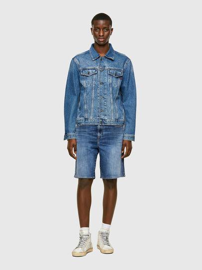 Diesel - D-STRUKT-SHORT, Bleu moyen - Shorts - Image 5