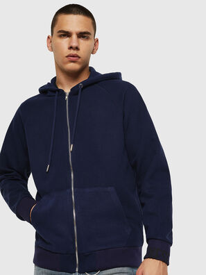 S-ERGEY, Bleu - Pull Cotton