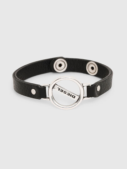 Diesel - A-OUND, Noir - Bijoux et Gadgets - Image 1