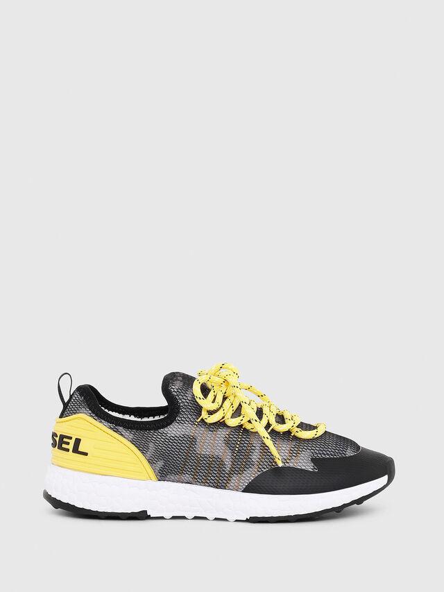 Diesel - SN LOW 10 S-K YO, Gris/Noir - Footwear - Image 1
