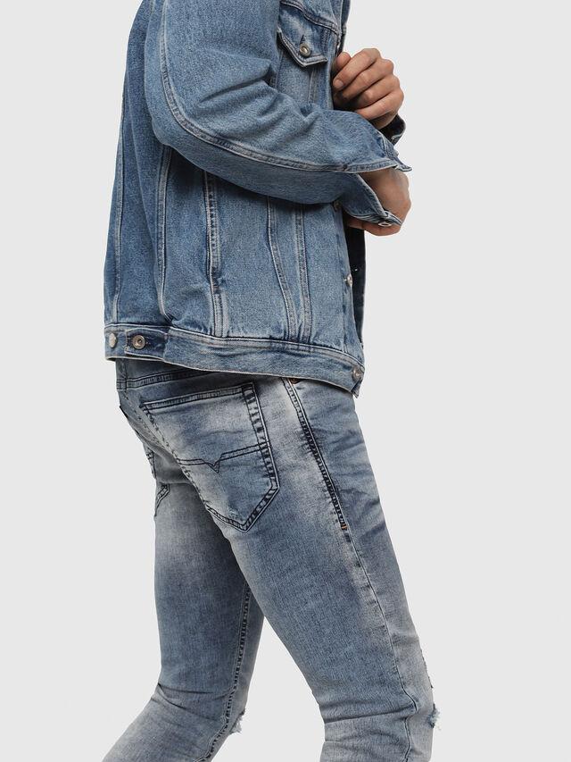 Diesel - Thommer JoggJeans 069FC, Bleu Clair - Jeans - Image 4