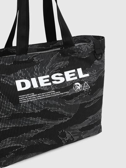 Diesel - D-THISBAG SHOP M, Noir - Cabas et Sacs d'Épaule - Image 4